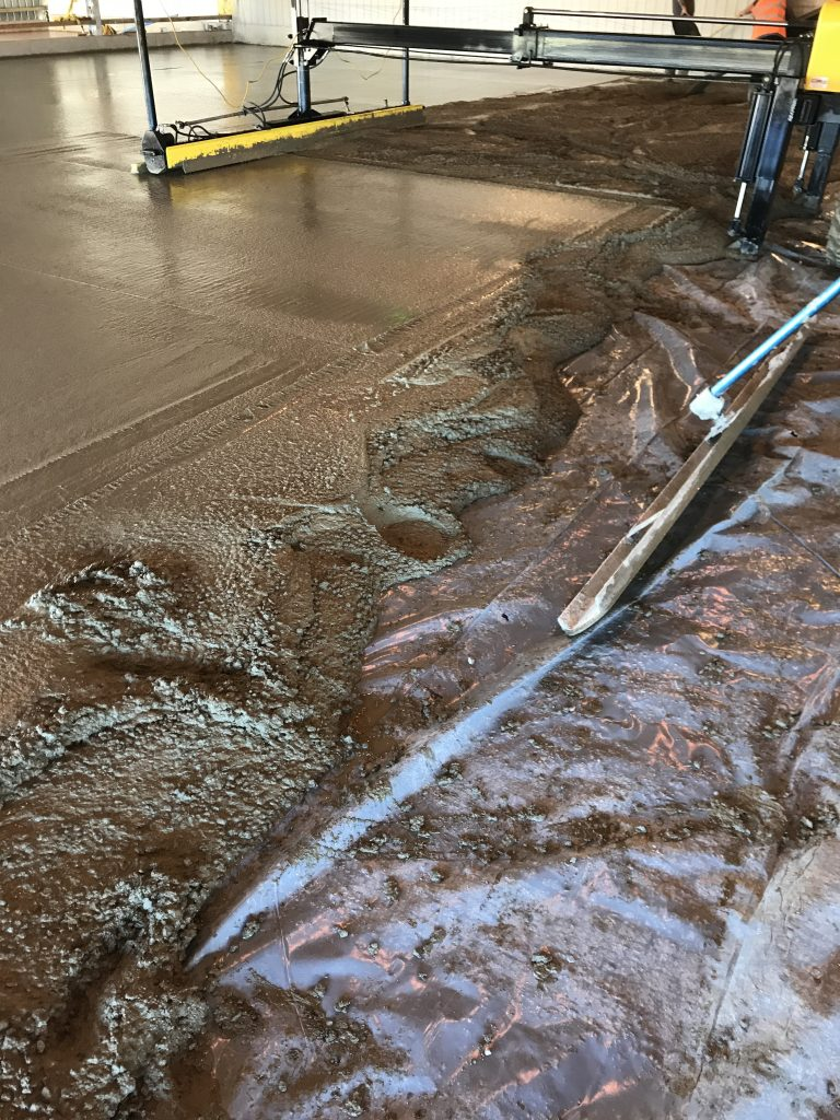 Cast Insitu Concrete Floor Slab For New Warehousing Facility In Melsonby Near Scotch
