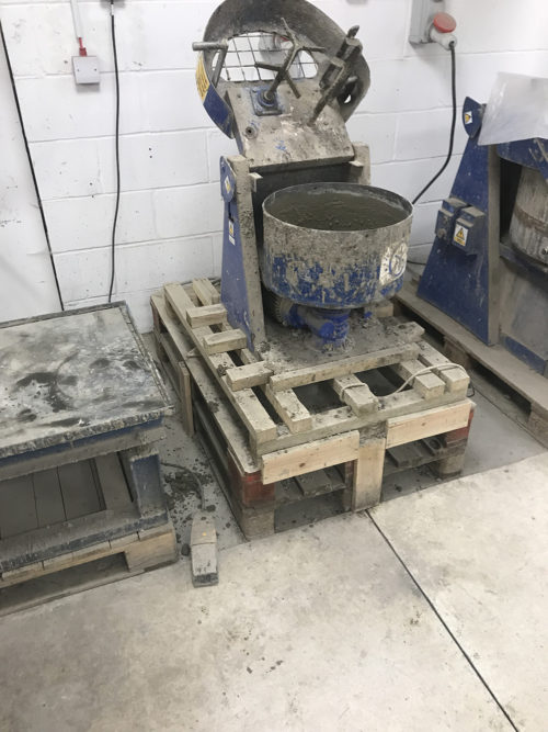 Concrete Admixture Trials At Daventry Laboratory With