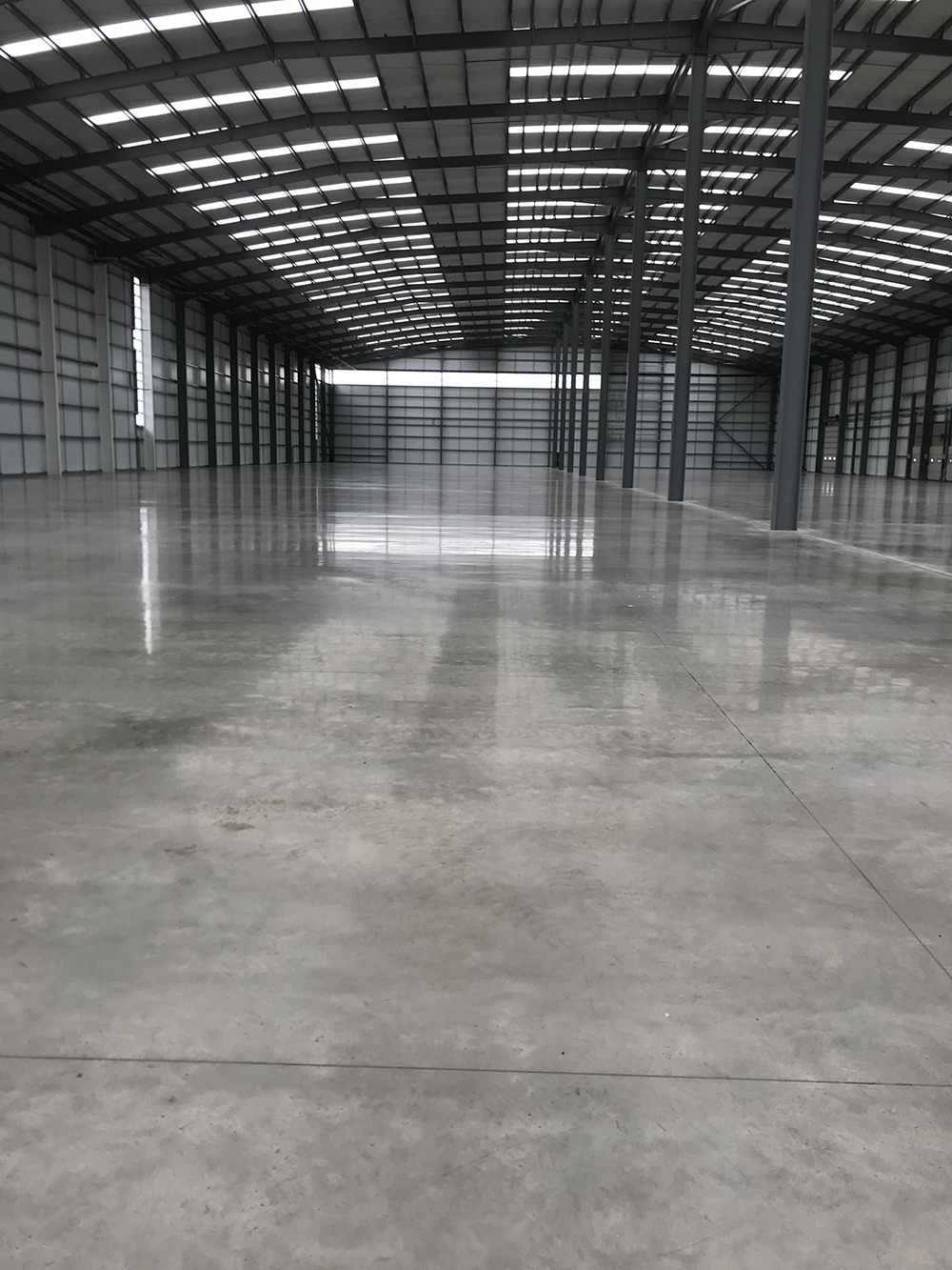 Warehouse Concrete Floor Slab In Norfolk Constructed By