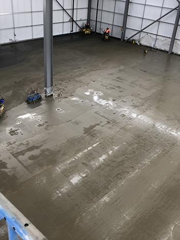 Industrial Concrete Flooring Contractors Complete Design