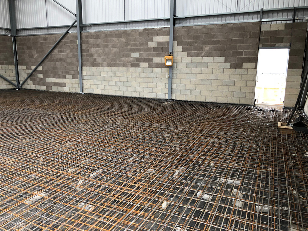 Suspended Jointless Warehouse Concrete Floor Slab Bradford West Yorkshire By Level
