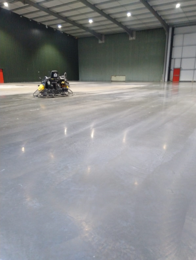 August 2019 Workload For Level Best Concrete Flooring