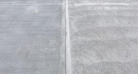 Rough pan surface finish providing anti-slip capacity externally