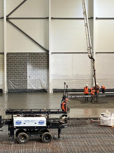 Laser screed concrete flooring contractors